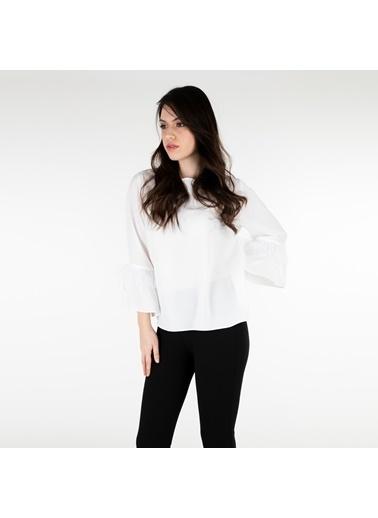 Trend Bluz Beyaz